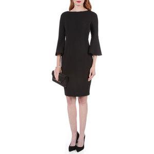 Calvin Klein Bell Sleeve Dress Black Size 4